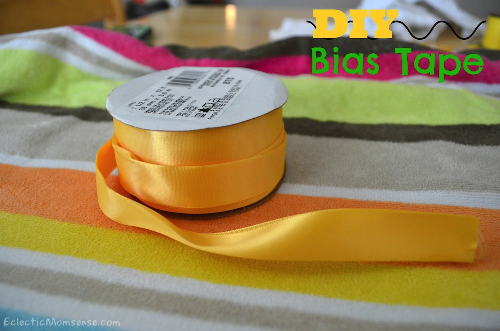 DIY bias tape: unlimited possibilities