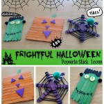 Halloween Popsicle Stick Art