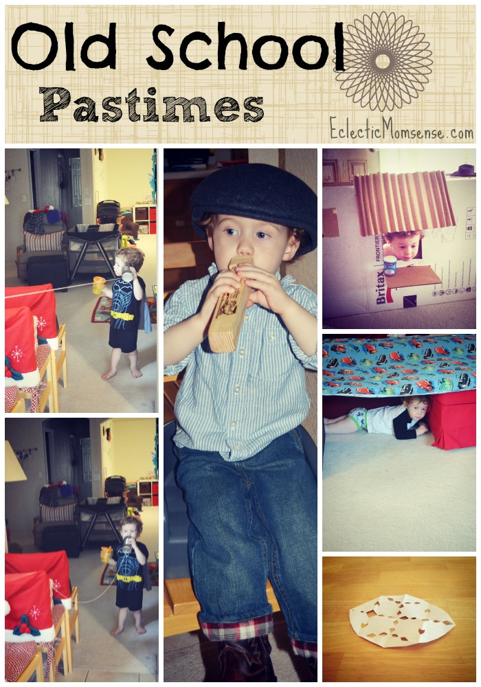 Share some old school fun with your kiddos by passing on these treasured pastimes.