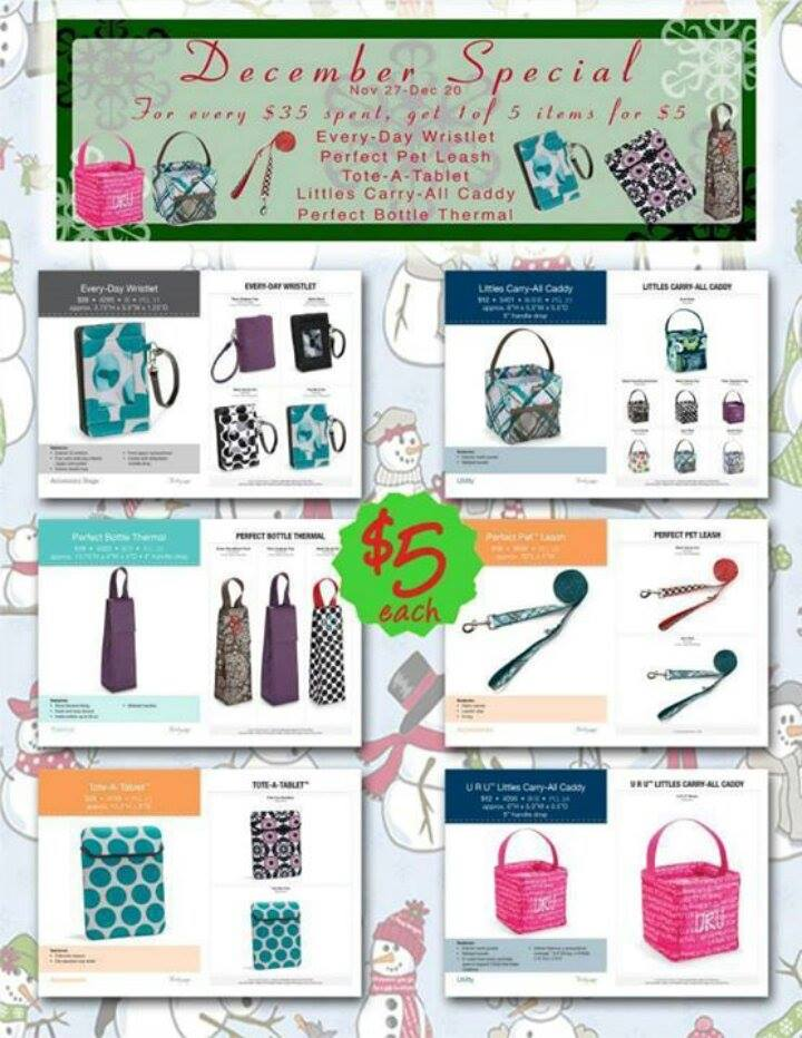 thirty-one gifts december specials