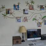 photo canvas family tree