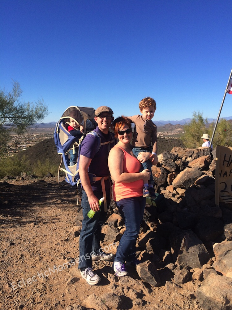 family hike #weightloss #fitness #fitfluential