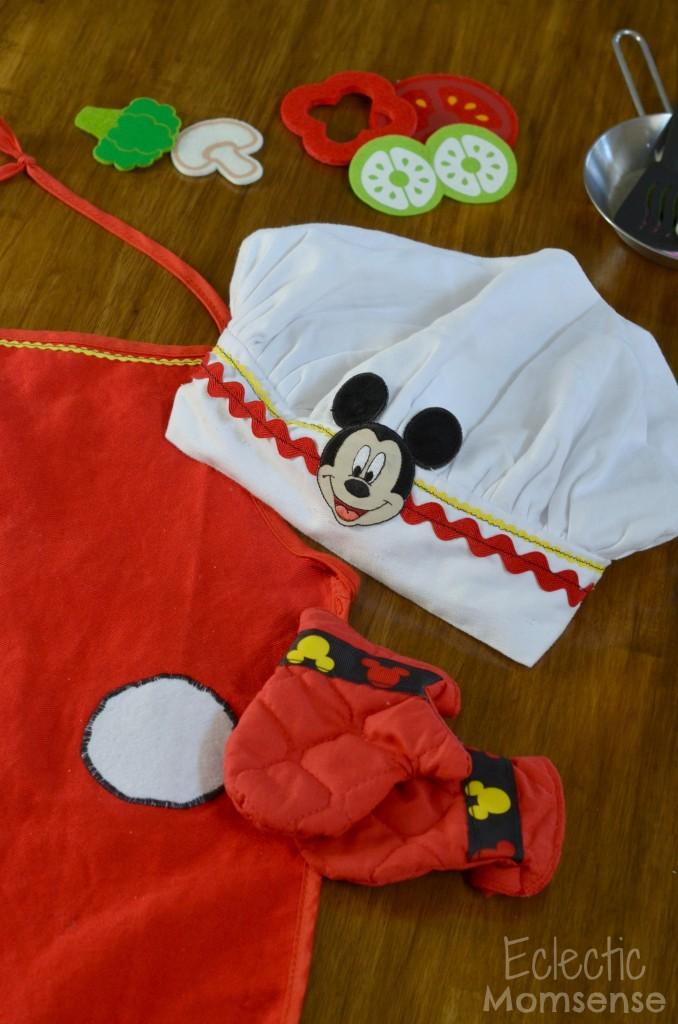 mickey chef hat