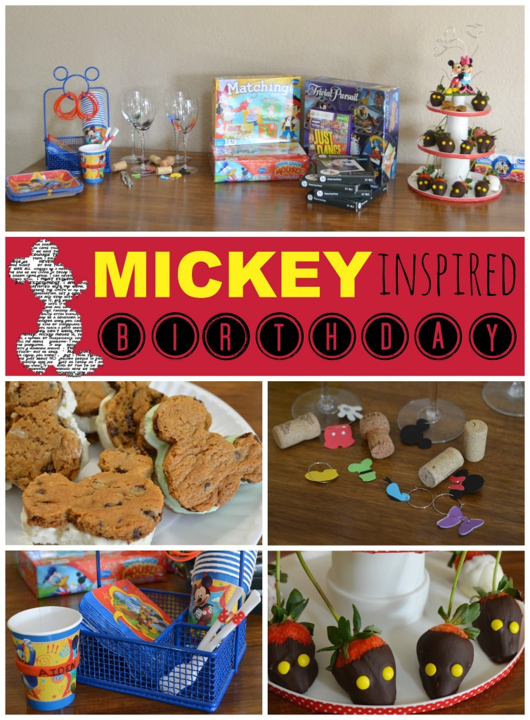 Mickey inspired birthday #DisneySide #sponsored