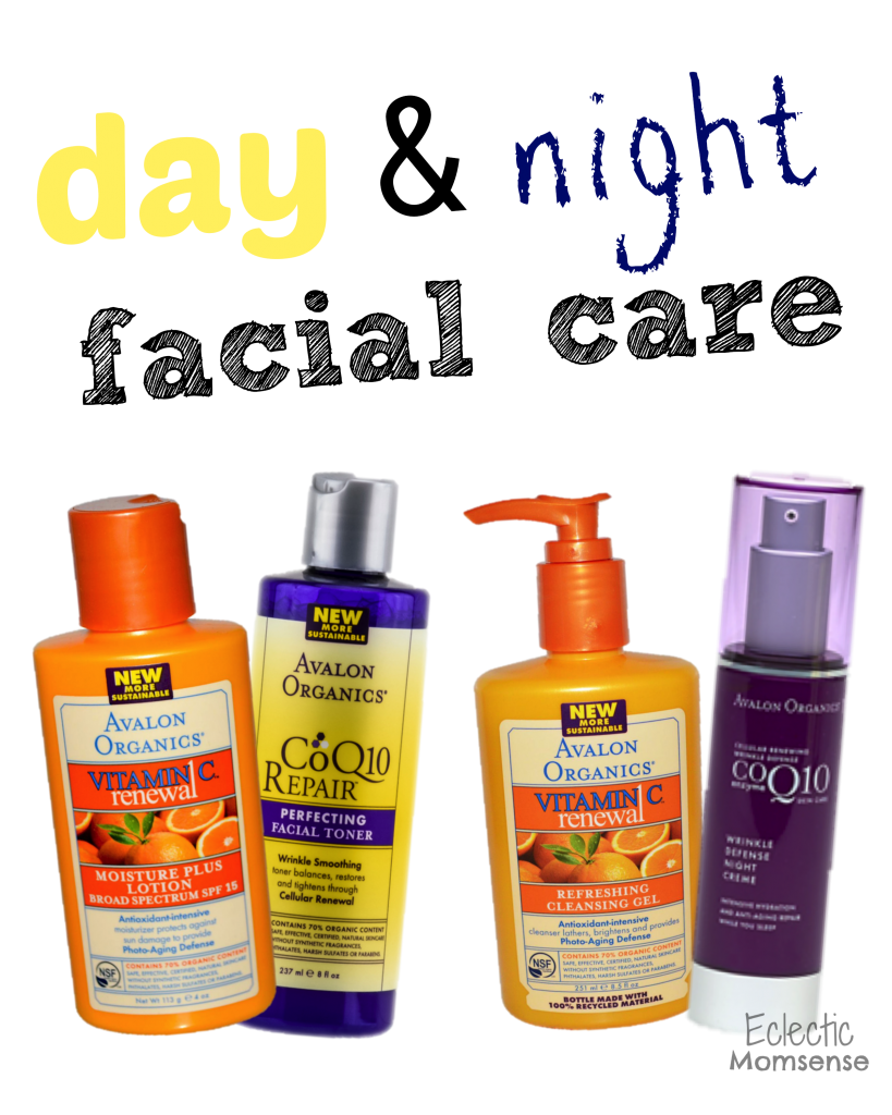 day & night facial care #sponosored