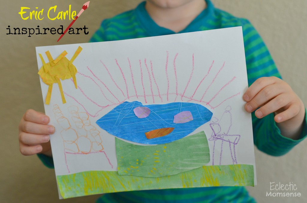 eric carle inspired art #shop #colorfulcreations