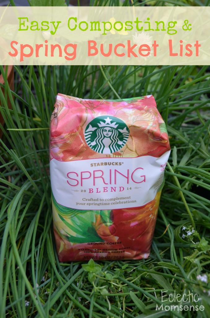 #dentongarden, Starbucks Spring Blend, spring, bucket list, spring bucket list