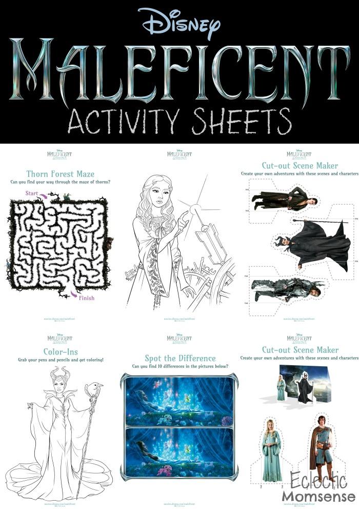 Disney, Maleficent, Disney Legacy #Maleficent, printables