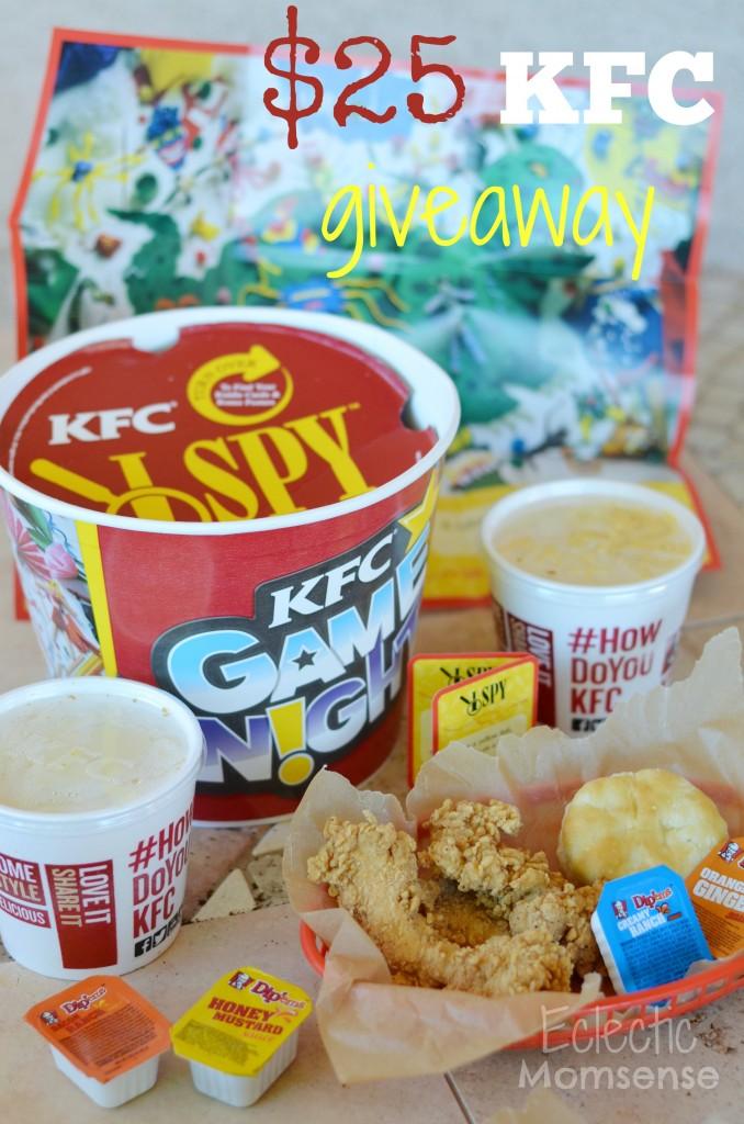 KFC Game Night Bucket, family game nigh, KFC, I SPY, #HowDoYouKFC