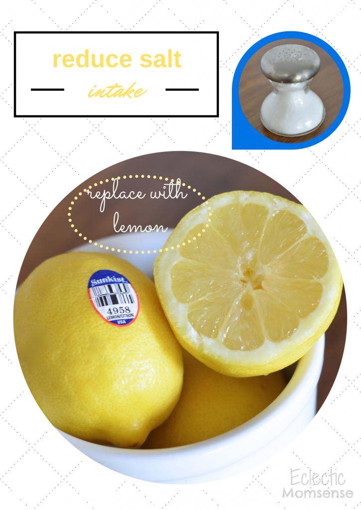 Lemon as a salt alternative- #TableTheSalt