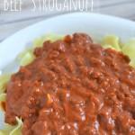 Beef Stroganoff - tomato base stroganoff #recipe #pasta #beef