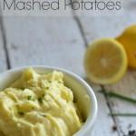 Lemon Herb Mashed Potatoes- salt alternative #TableTheSalt #ad