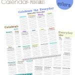 Special Occasion Calendar