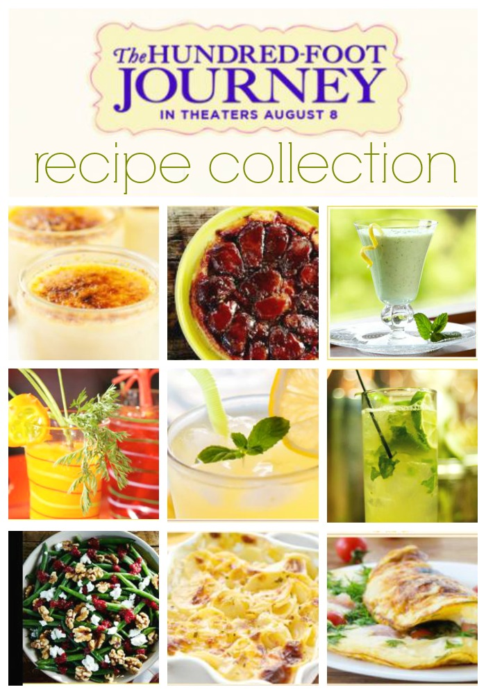 The Hundred Foot Journey Recipe Collection