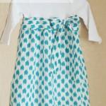 DIY Upcycled Onesie Dress