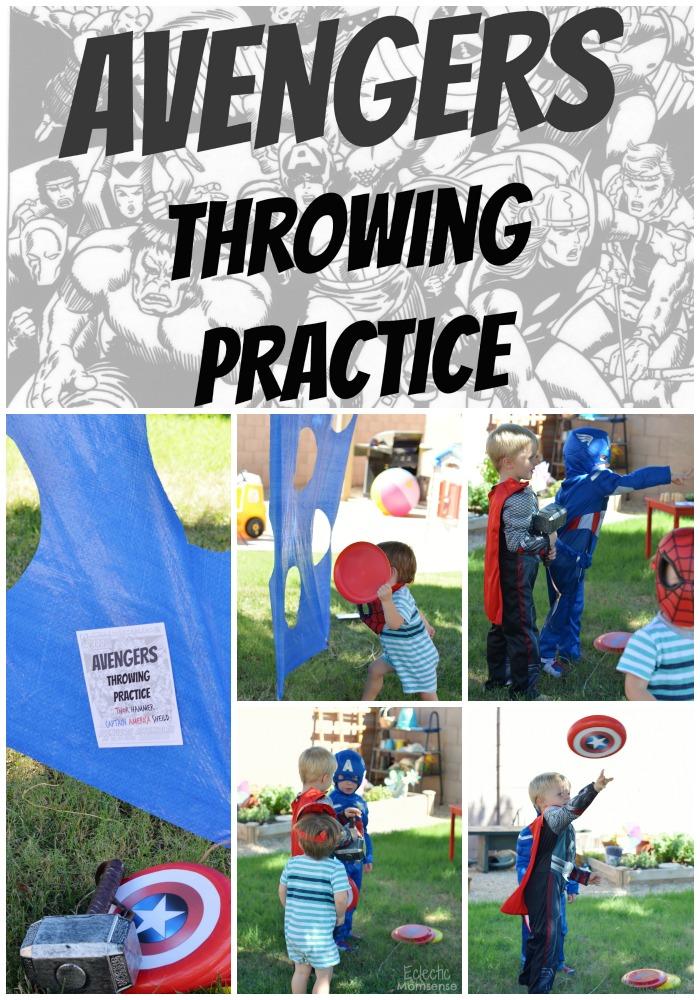 Avengers_throwing_practice