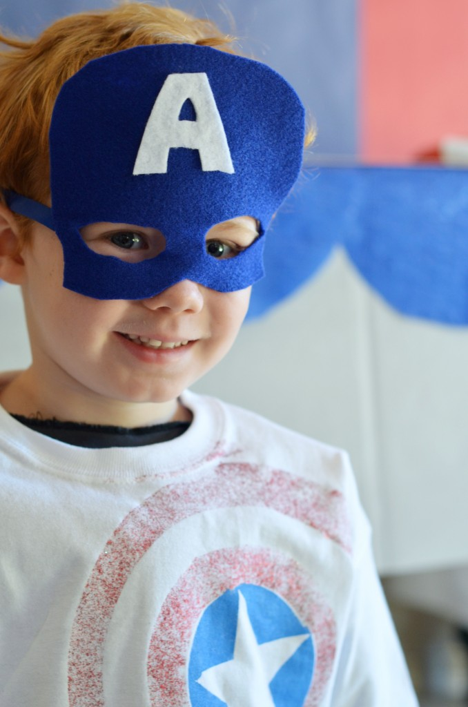 DIY-Captain-America-Shirt