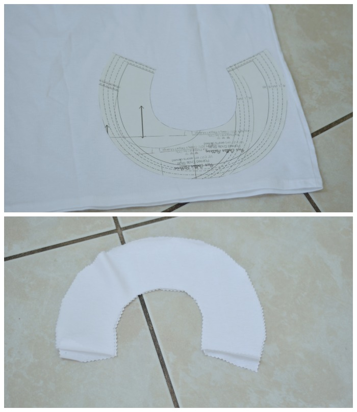 DIY Pinocchio Costume- collar