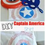 DIY Captain America shirt