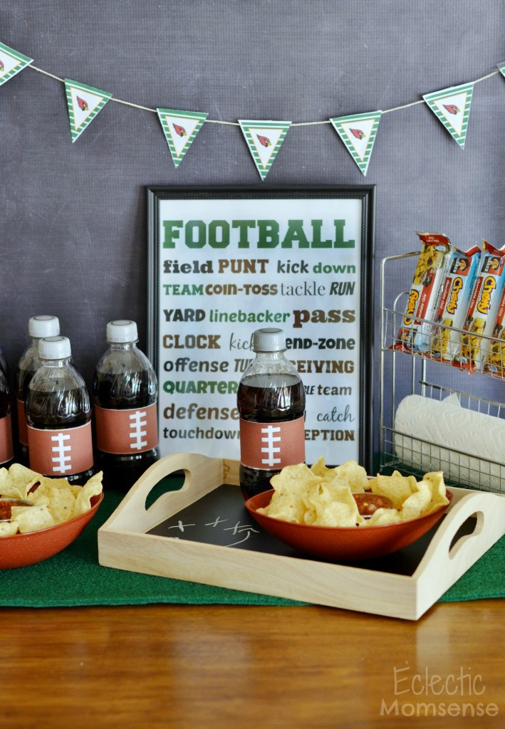 Game Time Football Party Snack Station