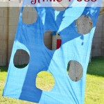 Easy $1 party toss game-