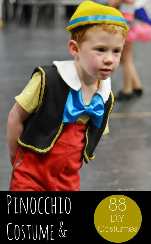 DIY Disney Pinocchio Costume