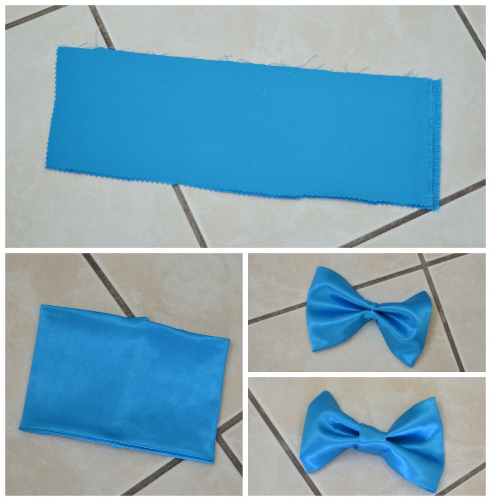 DIY Pinocchio Costume- tie