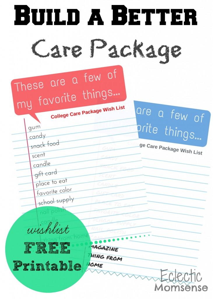 Care Package Wish List-- #AmazonHasIt, #AmazonWishList, #cbias, #shop
