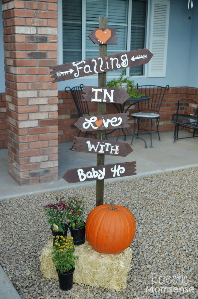 Fall Yard Sign