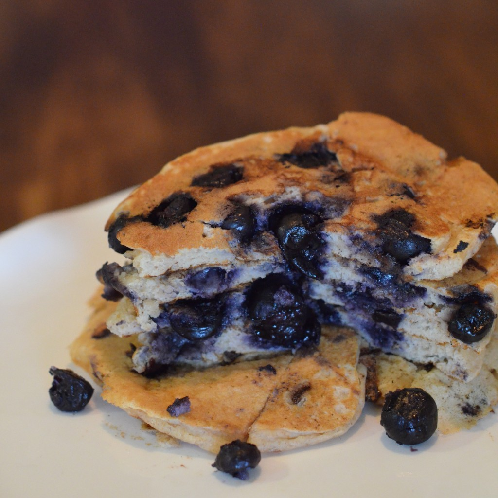 Buttermilk Blueberry Pancakes