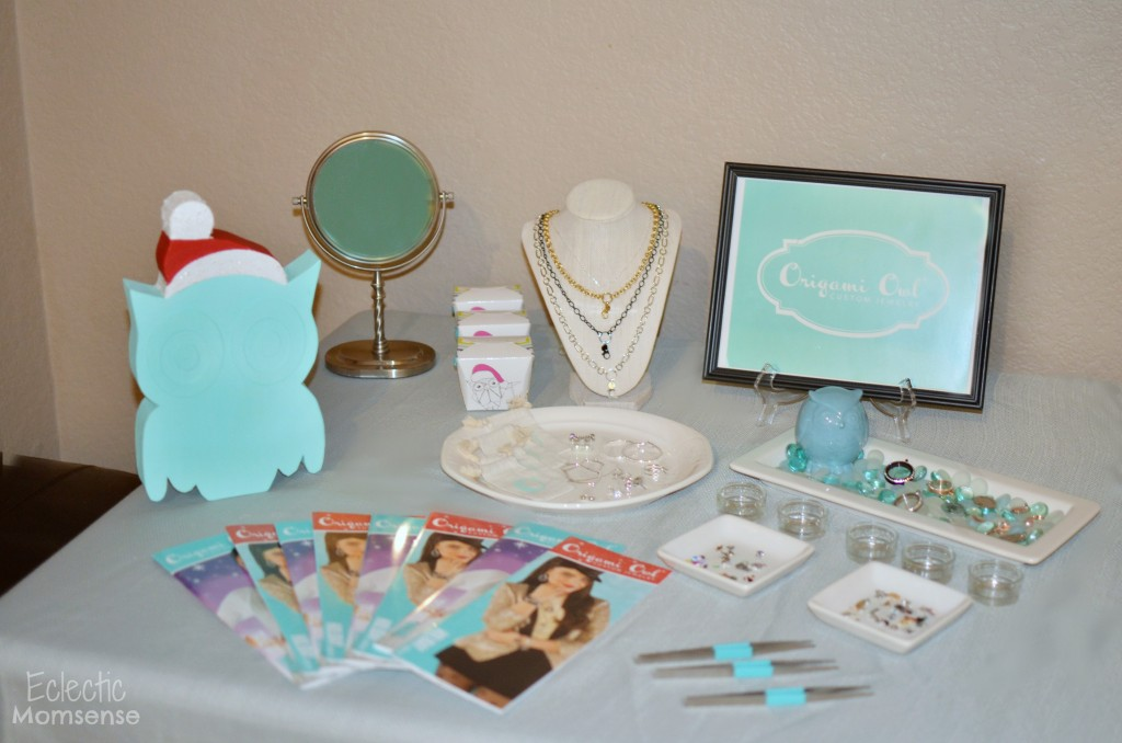 Origami Owl Jewelry Bar Ideas #sponsored
