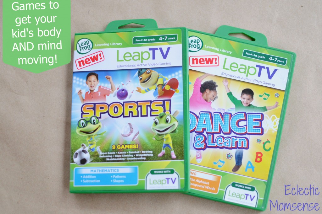 Leap Into Gaming: LeapTV games  #LeapFrog #sponsored #LeapTV