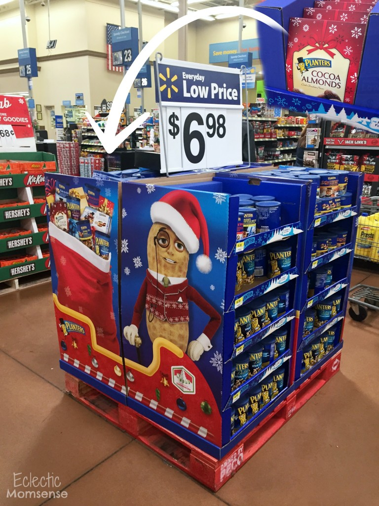 Mr. Peanut seasonal nuts at Walmart #GoNutsForNuts #shop #cbias