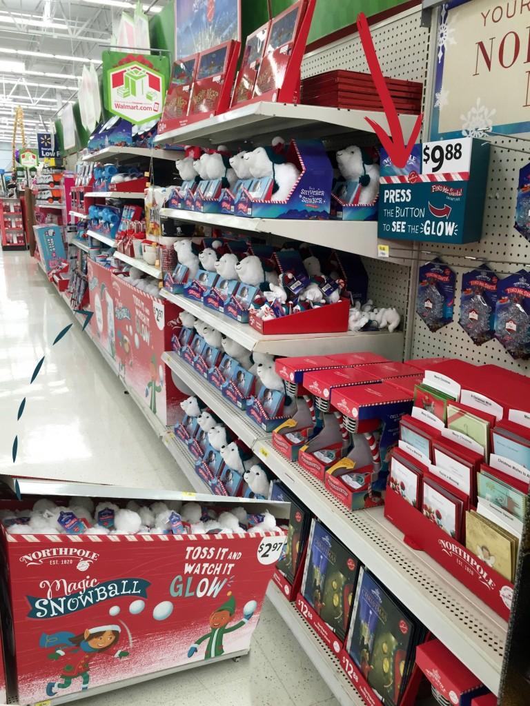 #NorthpoleFun at Walmart #shop