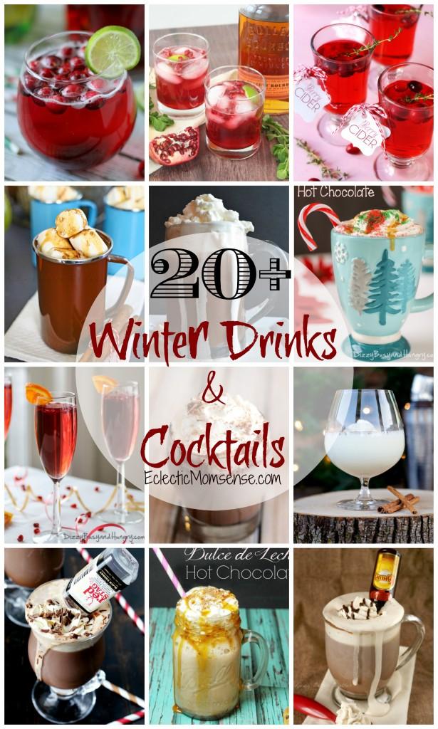 20+ Winter Drinks & Cocktails #sponsored