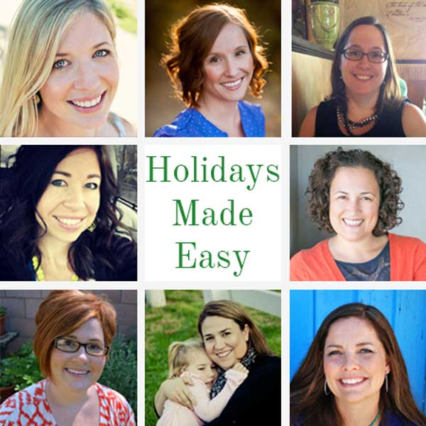 Holidays Made Easy bloggers