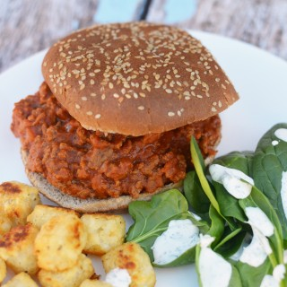 Hidden Veggie Sloppy Joes