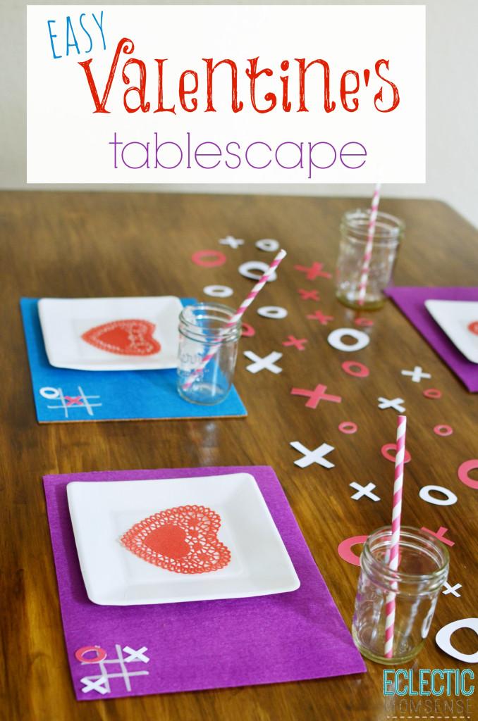 DIY Valentine's Tablescape #ad