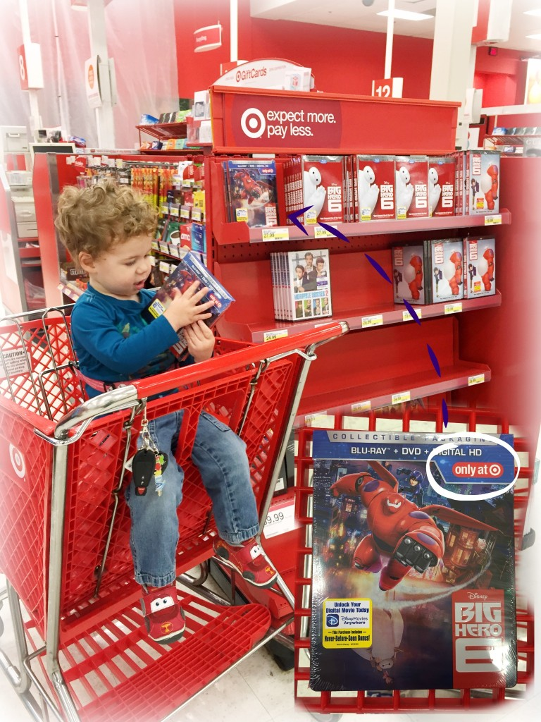 Big Hero 6 @Target. #BigHero6MovieNight #cbias #shop