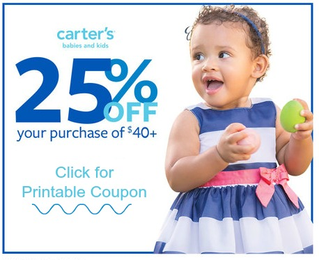 Carter's coupon March 2015 #SpringIntoCarters #IC #Ad