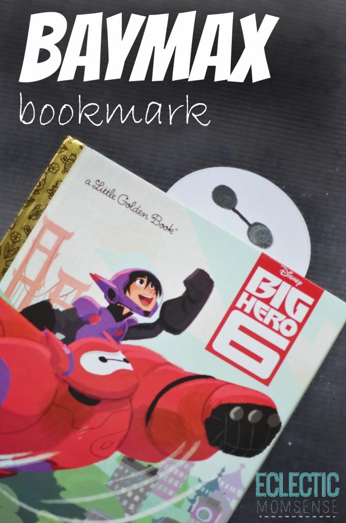 Baymax bookmark