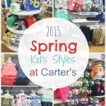 2015 Spring Kids Styles #SpringIntoCarters #IC #Ad