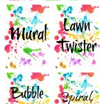 Colorful Art Party #printables | Eclectic Momsense