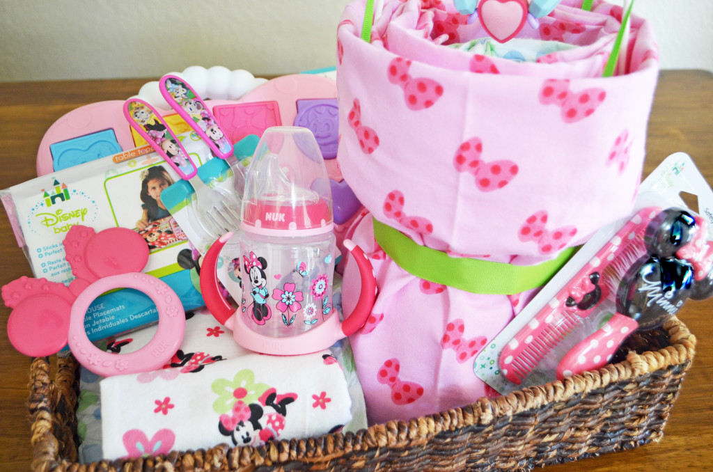 Princess Diaper Cake: Creating the Perfect Disney Baby Gift Basket @Walmart #Ad #MagicBabyMoments