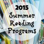2015 Summer Reading Programs