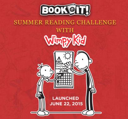 2015 Summer Book it Challenge
