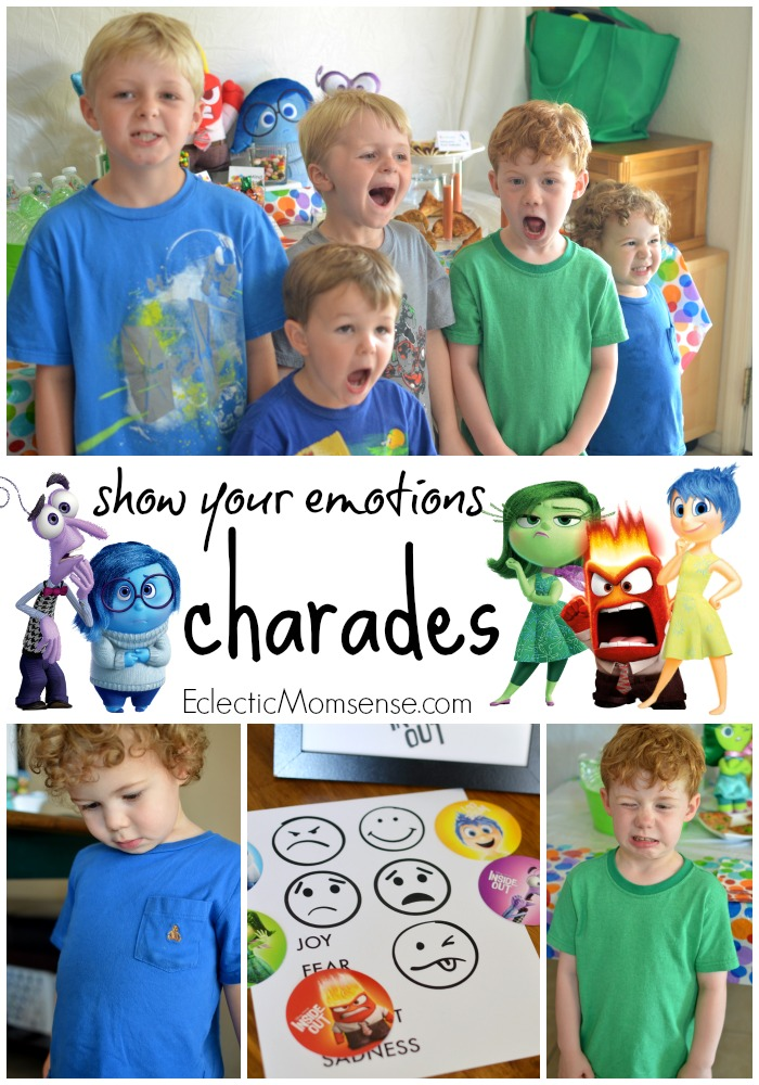 Disney PIXAR Inside Out Party Games #InsideOutEmotions ad