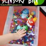 Memory Sensory Bin | Inside Out Water Bead Sensory Play