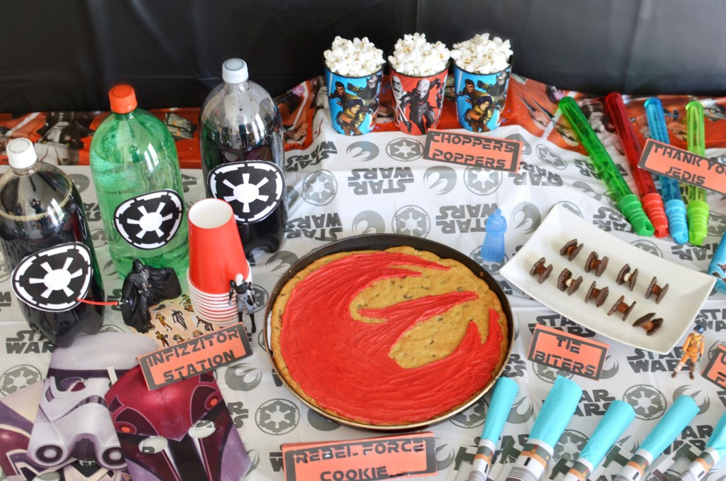 Star Wars Rebels Party Ideas | #BDayOnBudget | ad
