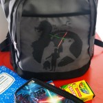 Star Wars Backpack- Learn how to make this custom storage vessel for your young padawan. |#StarWars | #craft | #DIY | #backtoschool